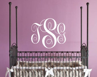 "Nursery Wall Decal - Personalized Childrens Decor Vinyl Lettering, Childrens or Teen Wall Decal Vinyl Wall art 22""H x 26""W"