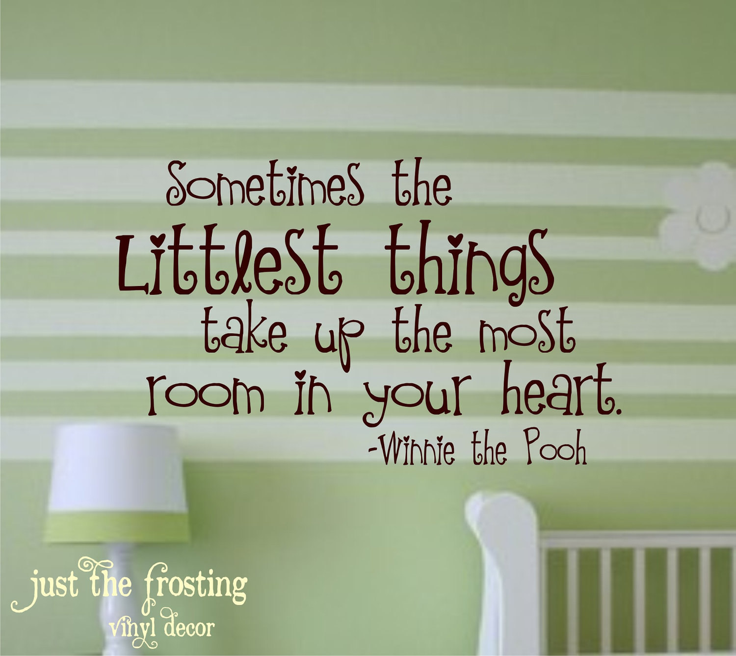 Winnie The Pooh Quote Vinyl Lettering Vinyl Decal Great For