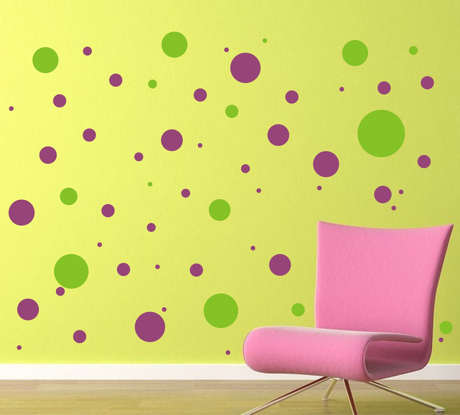 Elegant Polka Dot Wall Decals Pics Inspirations – Dievoon