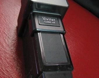 Vintage Vivitar 1/46 Electronic Flash Close-Up Flash Attachment