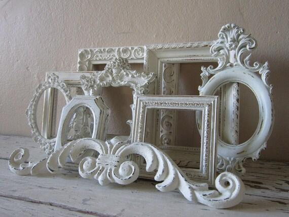 Frame Grouping -   Frame set - Childrens decor -Shabby Cottage