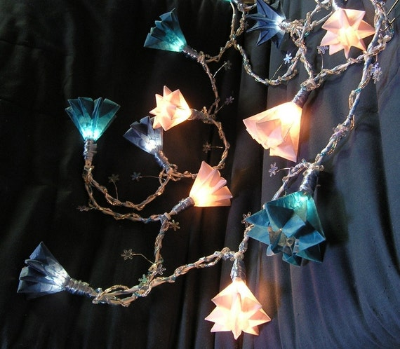 Eisprinzessin - Chilly Home Decoration / Chain of Light with 15 bulbs