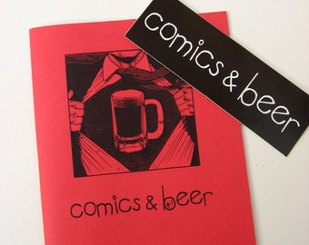 Zine - Comics & Beer no. 1 - Perzine
