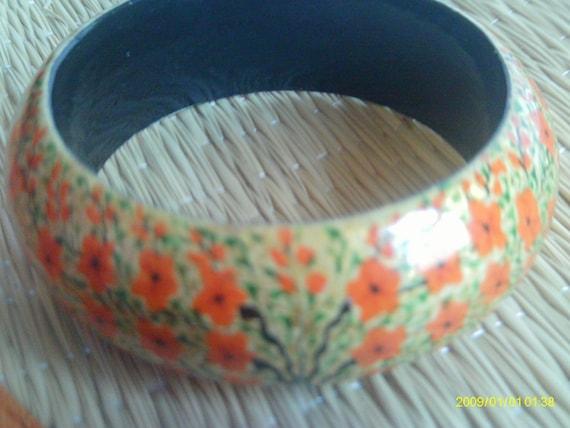 Vintage Wooden Bracelet