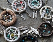Custom Dream Catcher Jewelry Necklace or Bracelet You Pick