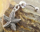 Seastar Belly Button Ring Belly Piercing