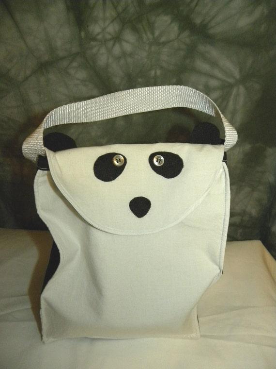 Panda Bear Lunch Bag