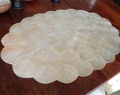 Capiz Shell Scalloped Edge Place mats