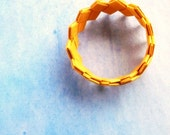 origami jewelry-paper bracelet- rice paper-  eco friendly