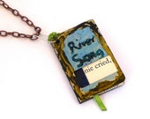 Dr Who River Song Book Pendant