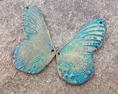 Biggest Butterfly Wings Light Blue