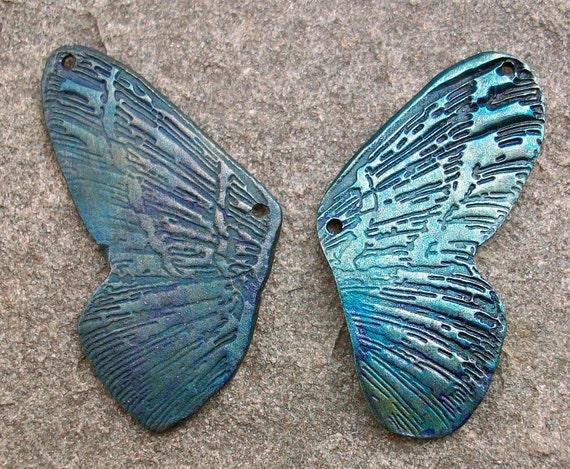 Megan Wings Peacock Shimmer
