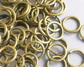 JUMPRING-AB-8MM - 100 of 8mm Antique Bronze Open Jump Rings