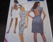 1988 -Vintage Butterick Pattern No. 6289- Misses Dress- size 6-10