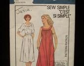 1979 Vintage Style Pattern 2671- Misses Dress- Size 12-14