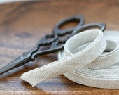 Herringbone Washing Linen Bias Tape, 1 Yard