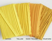 OVERSTOCK SALE) 5mm Yellow Tone Piping, 20 Yard - Yellow