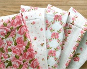 Sweet Days and Roses Cotton Fabric, 1 Yard (Color Option)