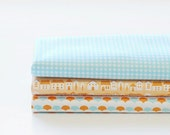 Fat Quarter) Homey Cotton Fabric Package - A Set of 3
