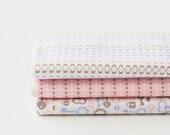 Fat Quarter) MAZE Cotton Fabric Package - A Set of 3