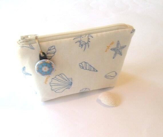 Sea Shell Zipper Pouch - Seashell Keeper
