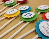 Sesame Street Themed Cupcake Toppers
