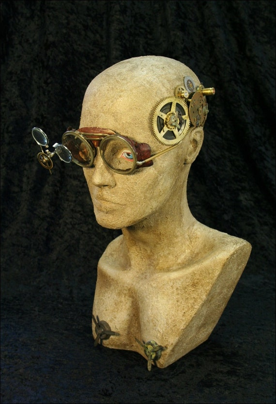 Reserved listing for Melody - Please DO NOT PURCHASE unless you are Melody - Gearhead Beta ... art mixed media assemblage