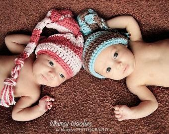 Baby Crochet HaT Pattern: 'Knotty Babe With A Knotty Twist' Photo Prop