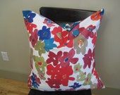 """Bright Flowers Pillow Cover - Set of 2- 24""""x24"""" -Free U.S. Shipping"""