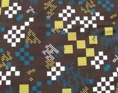Cotton Fabric 1 1/2 Yard- Scandinavian Design- Professional Print- For Curtains, Roman Blinds, Pillow covers etc.