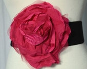 Gorgeous Big Hot Pink Flower Belt .... Only flower for 12.00