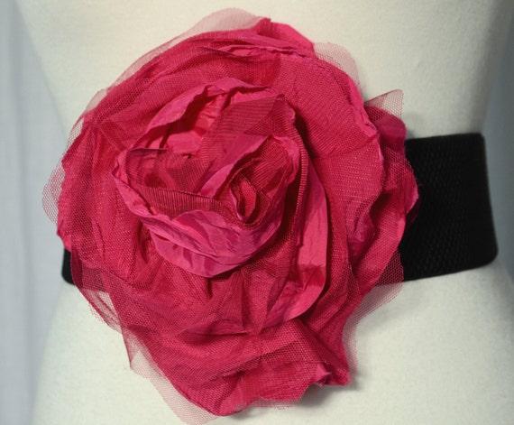 Gorgeous Big Hot Pink Flower Belt .... Only flower for 12.00