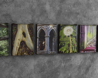 Family Sign / Family Sign Home Decor / Alphabet Photography on Canvas / Gift for Mom / Gift for Dad / Family Wall Decor / Gift for Family
