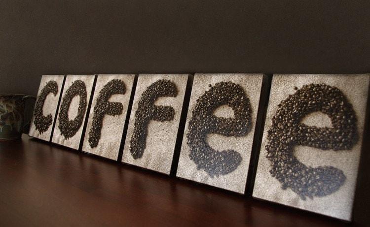 COFFEE SIGN Kitchen Decor Coffee Shop Decor By AlphabetArtPhotos