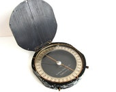 Vintage / Antique Leupold-Volpel Surveying Compass (circa. 1930s) - Collectible, Home Decor