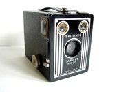 Vintage Kodak Brownie Target Six-20 Camera - Art Deco Home Decor, Collectible