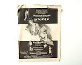 "Vintage Magazine Ad for the movie ""Picnic"" with William Holden, Kim Novak (1955) - Movie Collectible, Home Decor, Ephemera"