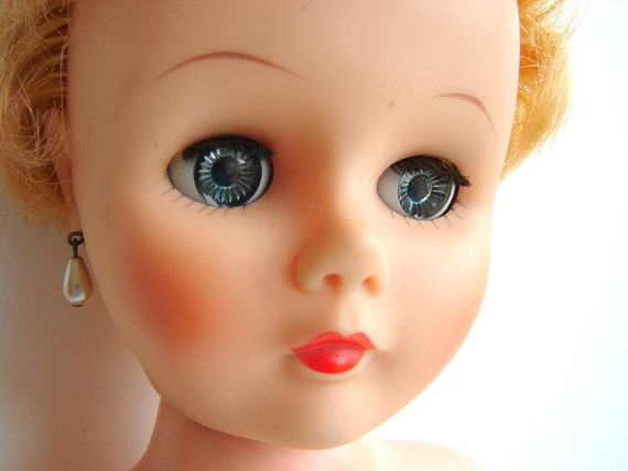 Reserved For Kathy Vintage Sleepy Eye Bride Doll With