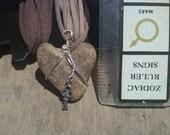 Heart N Key Pendant