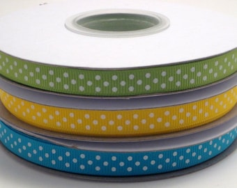 """3/8"""" Cool Caribbean Ribbon Pack (3 yards of each color)"""