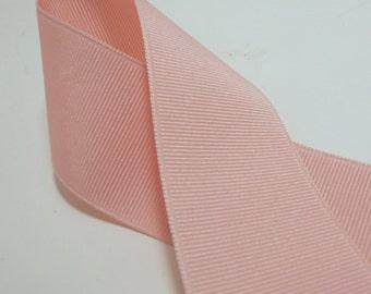 3 Yards Pink 1.5 inch Grosgrain Ribbon
