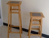 Tile Top Plant Stands