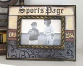 Frame Sports Football Baseball Soccer Gift Men Man Cave Personalize