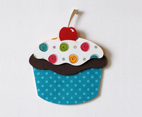 Items similar to cupcake wall decor children wall decor for Cupcake wall art
