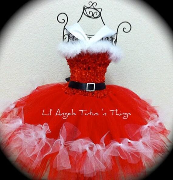 Santa Baby Tutu Dress Santa Baby Tutu Dress