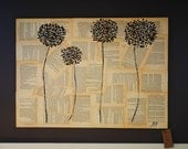 Bookpage Wild Flowers Painting