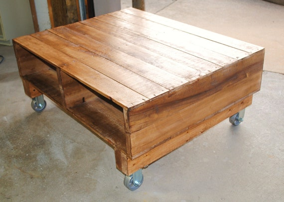 Items Similar To Pallet Coffee Table On Etsy
