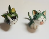 Kawaii Kitty Purse Charms/ Earrings/ Necklace