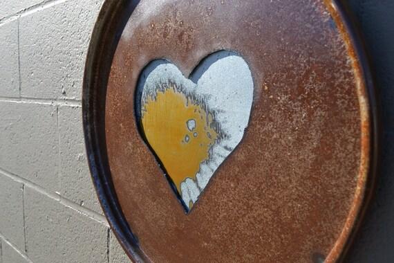 One Heart: Salvaged Wall Art