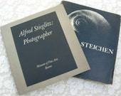 RESERVED 2 Vintage Photography Books, Stieglitz softcover, & Steichen hardcover